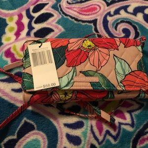 Vera Bradley crossbody wallet